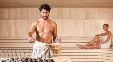 Saunieren nackt splitterfasernackt: Drag: